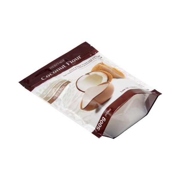 made in china for sale coconut flour stand up pouch