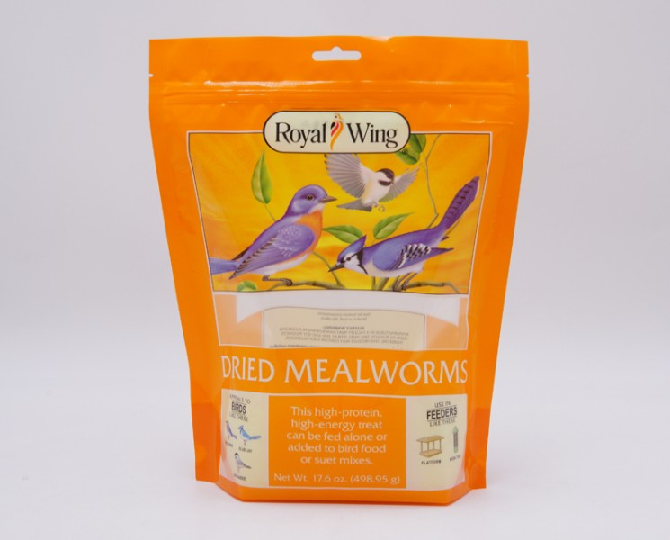 made in china bird food stand up bag 3 layers