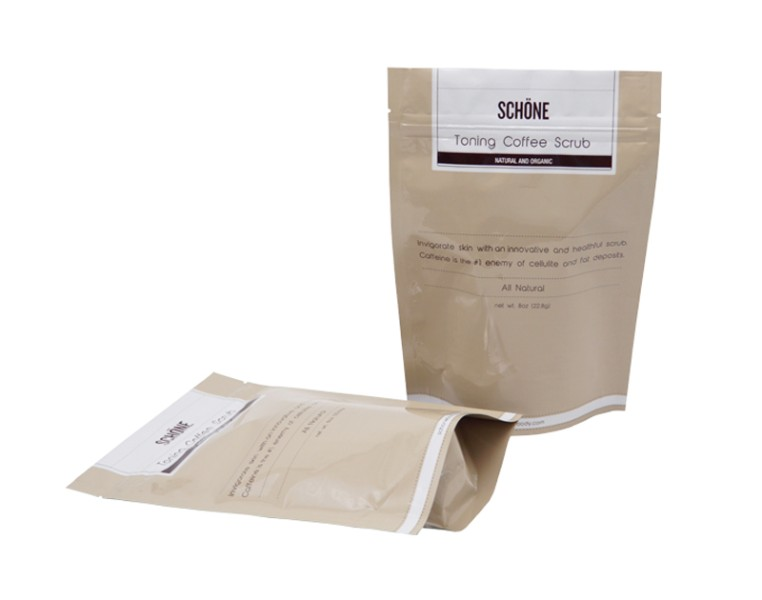 made in china coffee scrub doypack