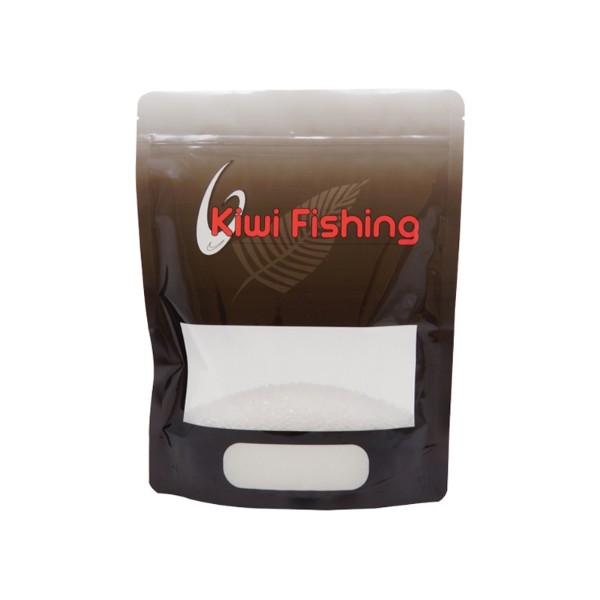 fish food stand up pouch