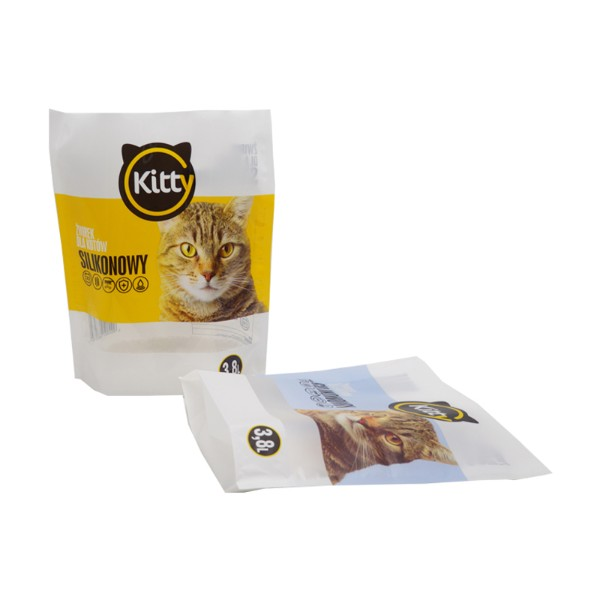 cat litter packaging pouch