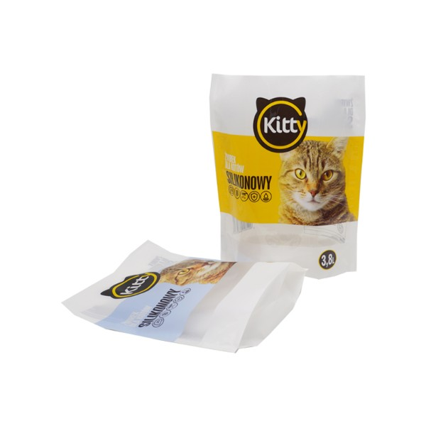 cat litter packaging pouch