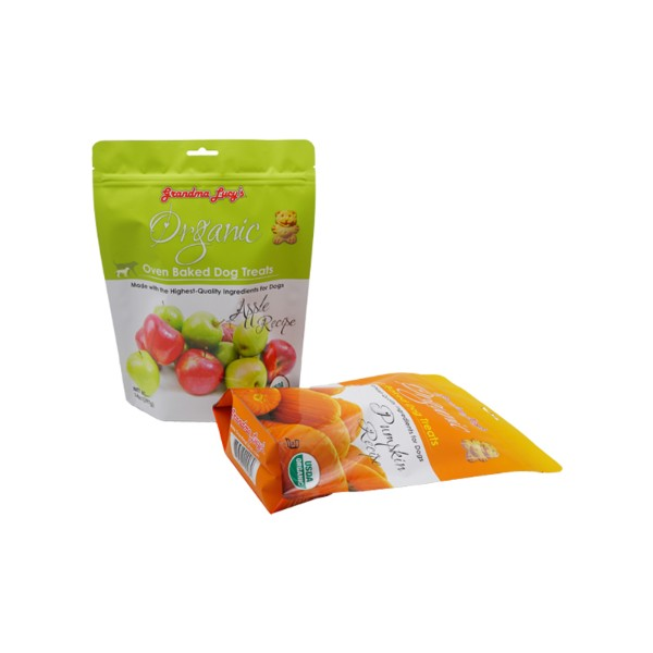 dog food standing pouch