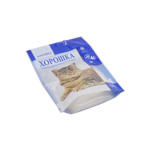 cat litter plastic bag