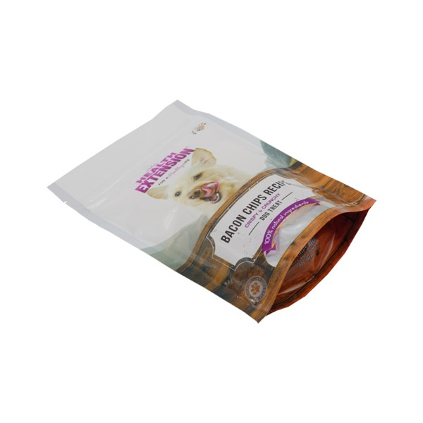 dog treat stand up pouches