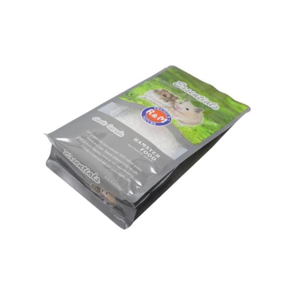 hamster food square bottom bag