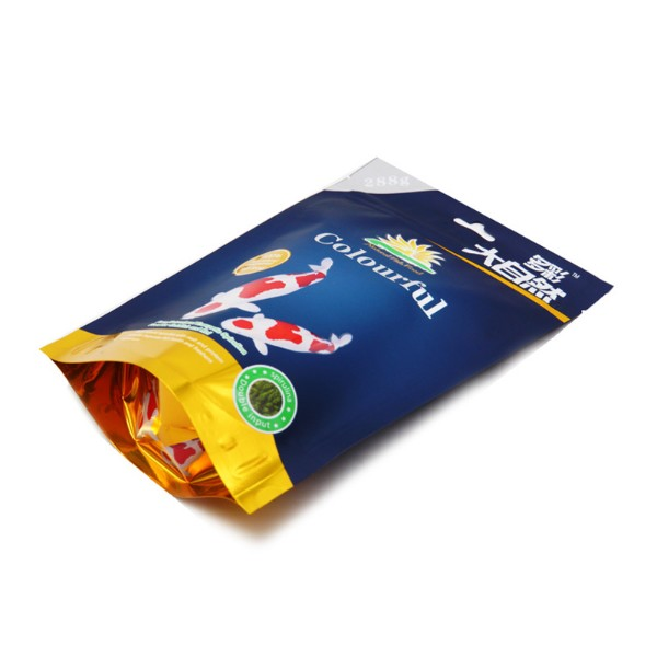fish food packaging bag