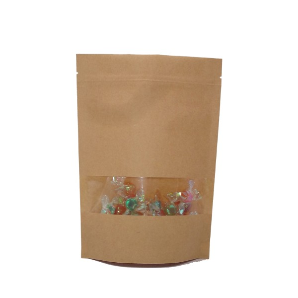 china Export kraft paper food pouches