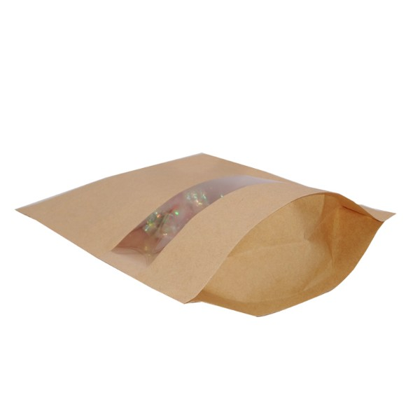 china kraft paper food pouches