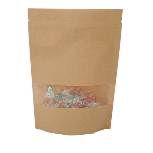 china kraft paper food pouches