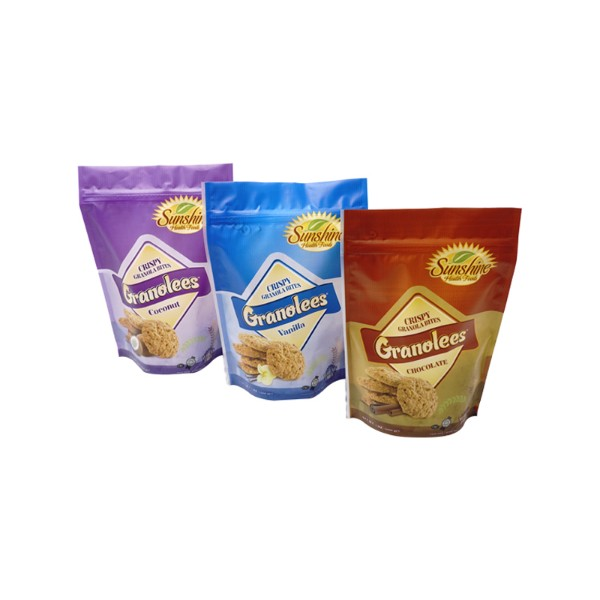 made in china Export stand up cookie bags