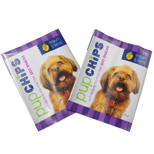 made in china dog snack back seal bags Picture