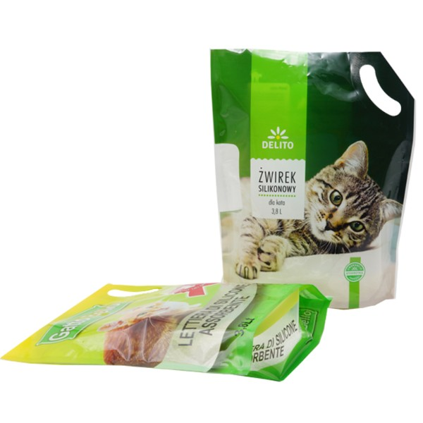 made in china packaging bag for cat litter