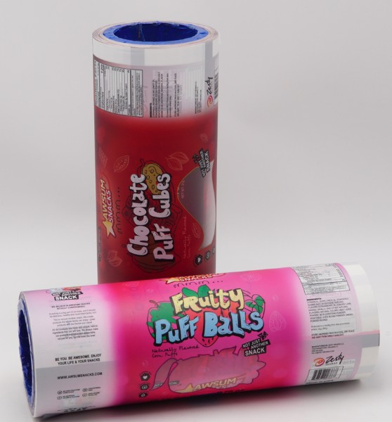 snack roll film Hot Sale