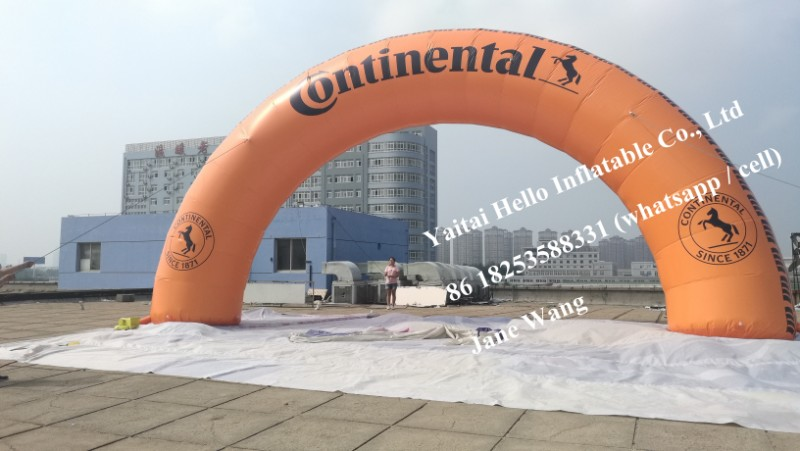 inflatable advertising arch promotion