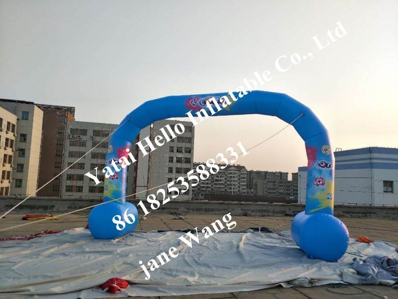 giant inflatable advertising arch