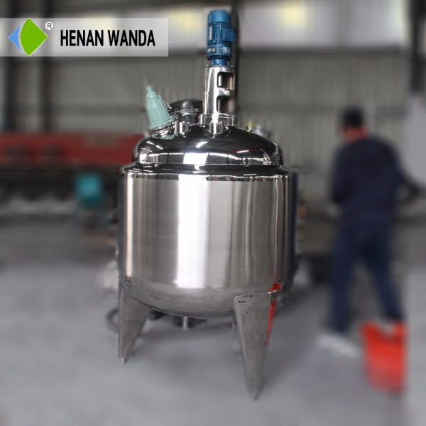 316 stainless steel jacketed pot reactor Best Supplier