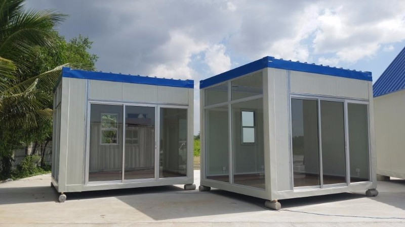 10ft Prefab container mini-shop