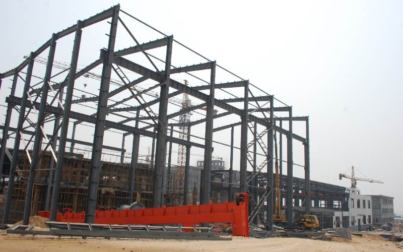 prefab steel structure building China supplier