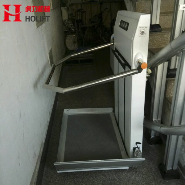 Inclined Platform  Wheelchair Lift for home