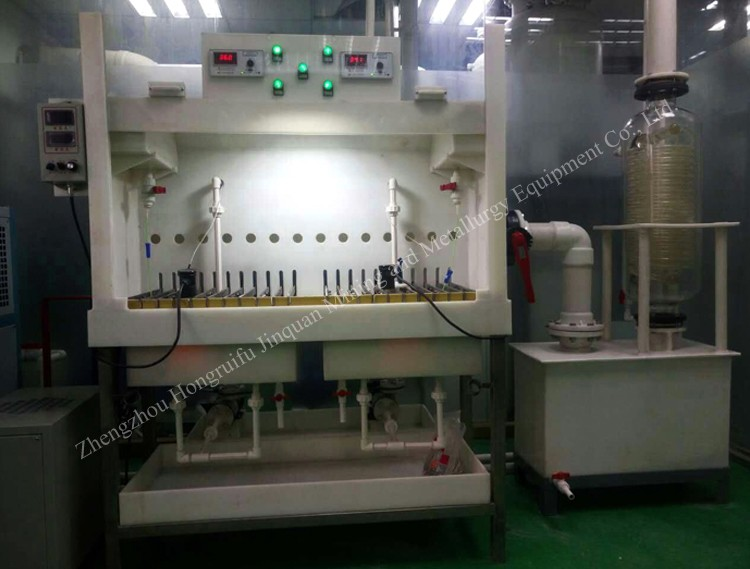 Electrolytic cell for crude gold Professional Wholesaler