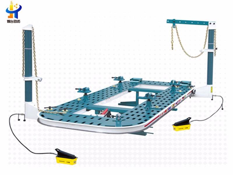 auto chassis frame straightener machine