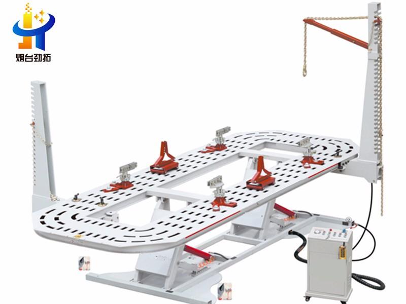 Car Chassis Liner Frame Puller Machine