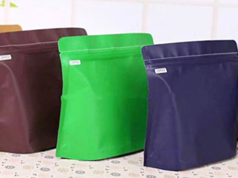 Top Quality blue matte coffee bag