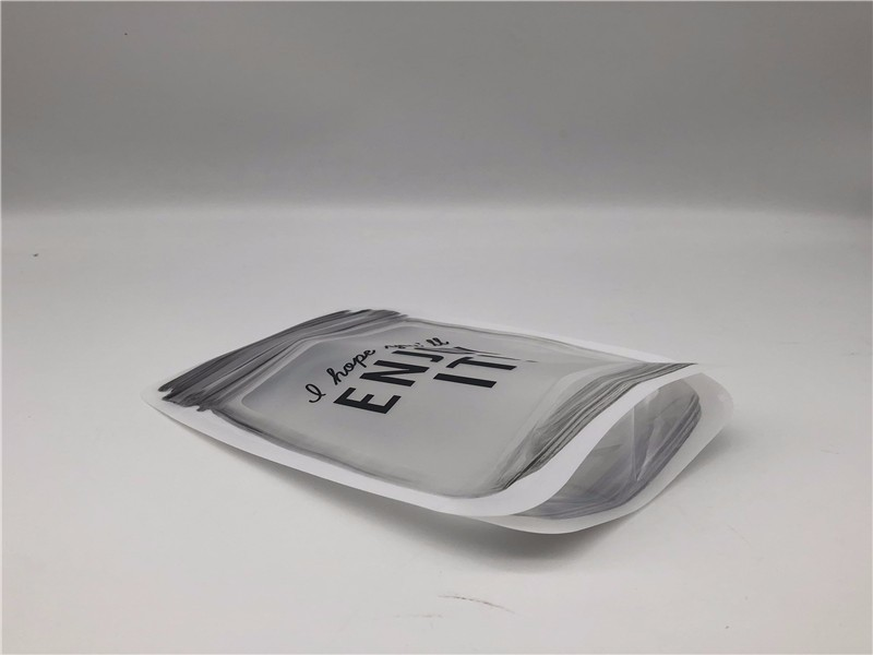 Jar shape stand up pouch