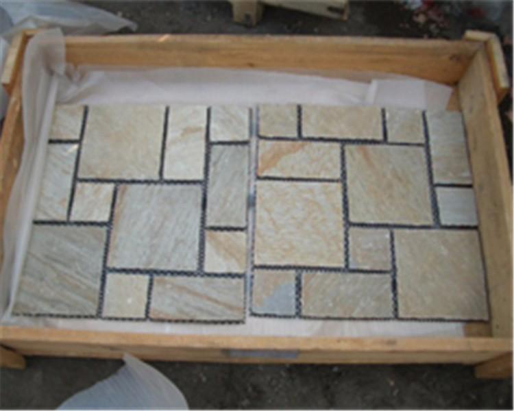 slate bricks