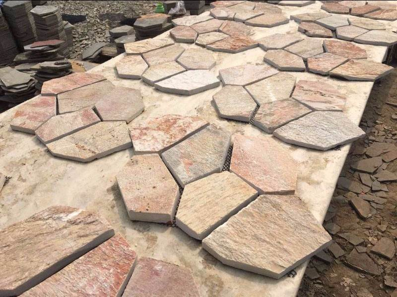 High Grade slate flagstone tile