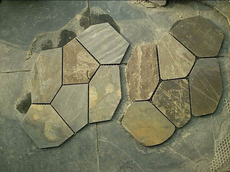china Good Wholesaler slate flagstone tile