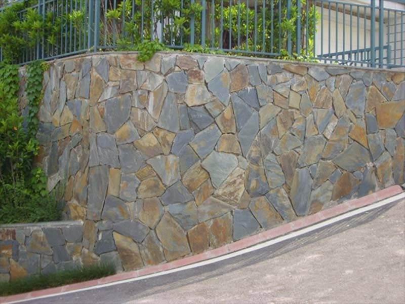 slate effect walling blocks Low Price