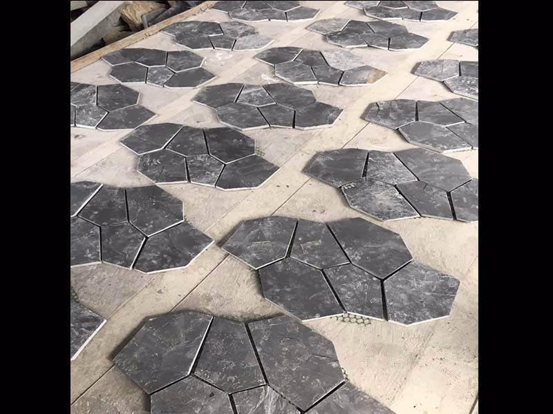 china laying slate flagstone patio