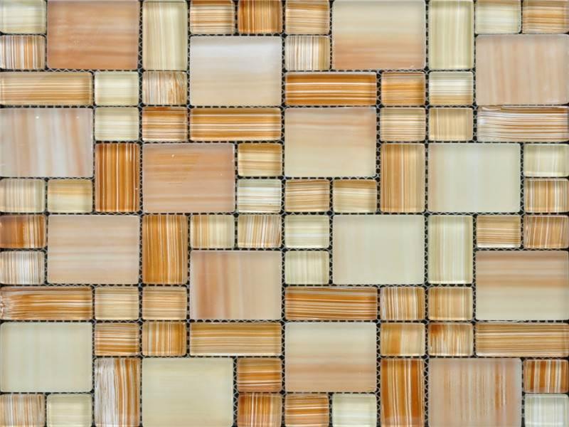 On-line Service slate glass mosaic