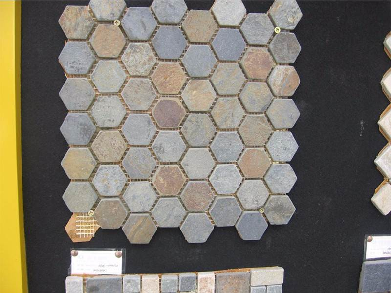 china Cheapest Price slate mosaic tiles