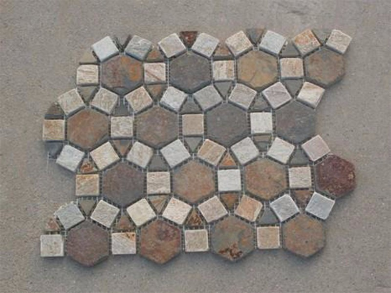 Best Wholesaler slate mosaic tiles