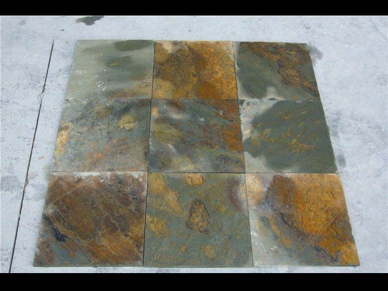 made in china slate floor tiles