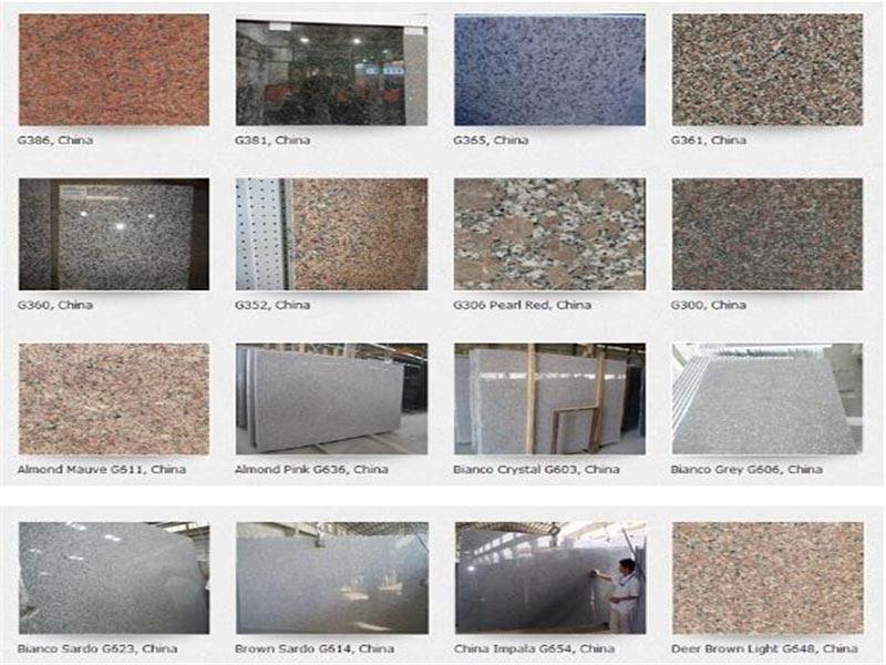 made in china Tianshan Red Granite