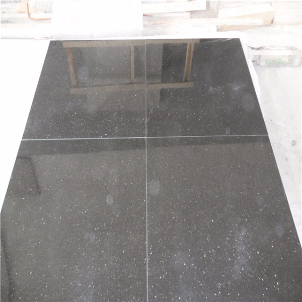 Customized black galaxy granite