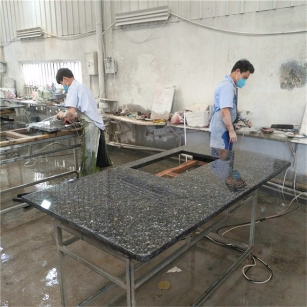 Made in China blue pearl granite