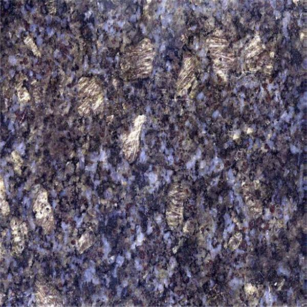 made in china butterfly blue granite countertop
