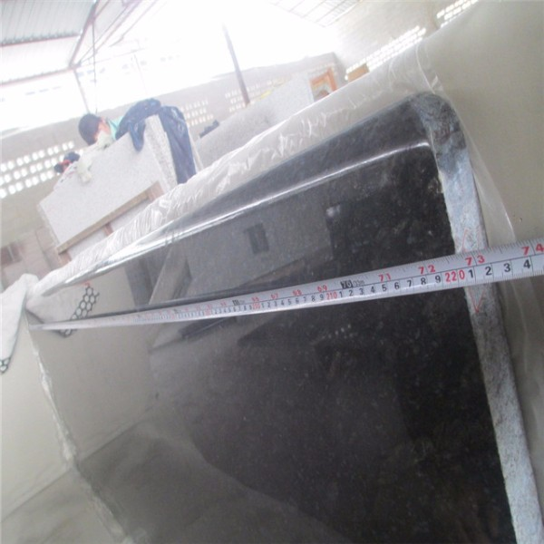 made in china Factory Produced butterfly blue granite countertop