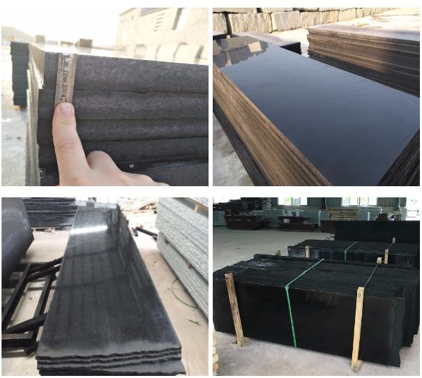 Best Wholesaler dyed black granite