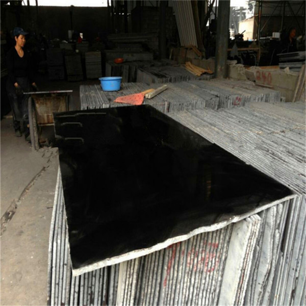 Best dyed black granite