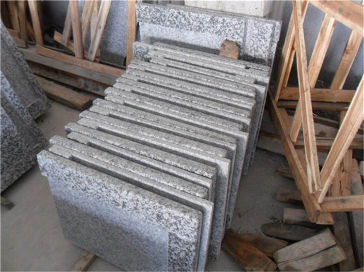 g439 big flower white granite