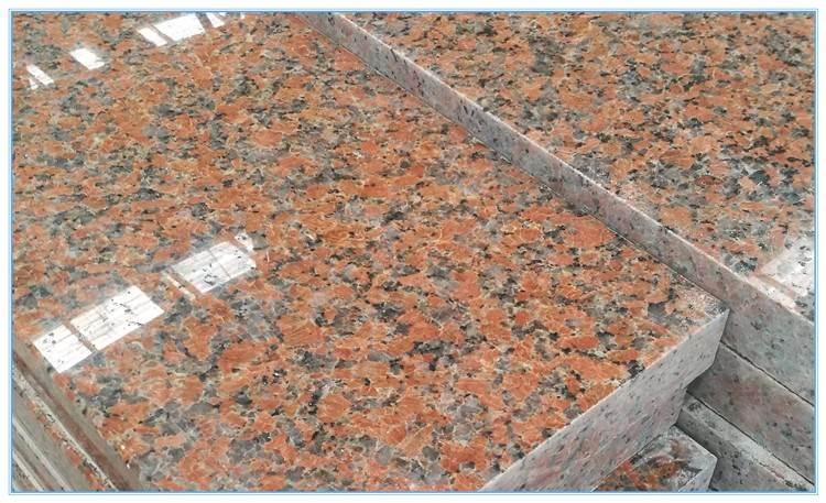 g562 granite with bullnose