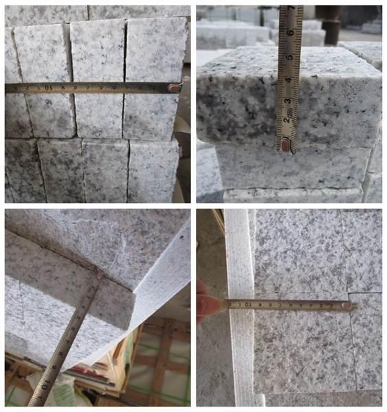 g655 Granit auf Maß geschnitten