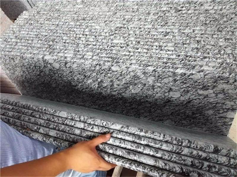 made in china spray white granite countertop