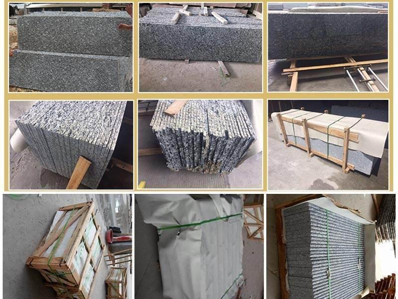 china spray white granite countertop